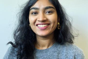 Sree Nair, volunteer at UNAC-Calgary